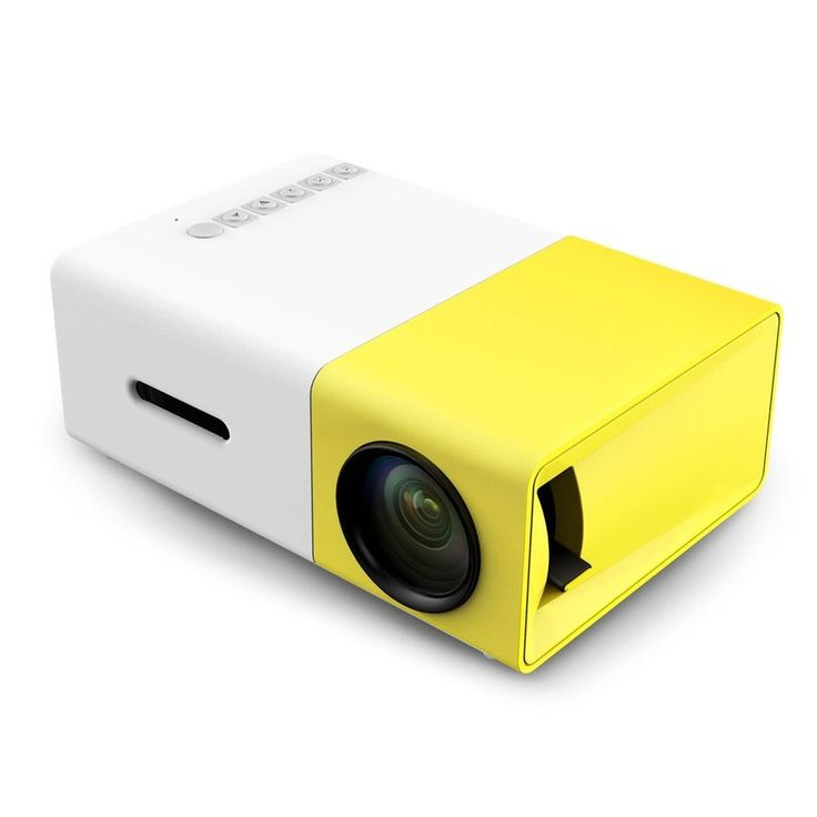 Mini 300 LED Portable Projector