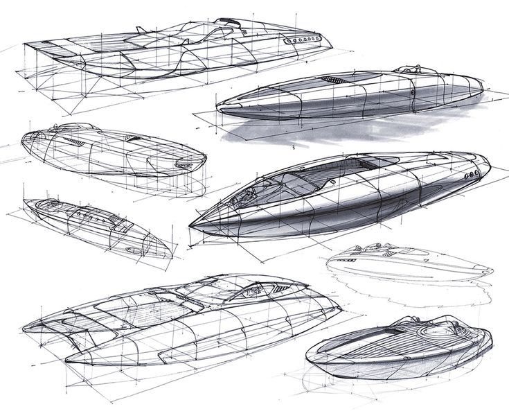 Perspective Design Sketches by Scott Robertson