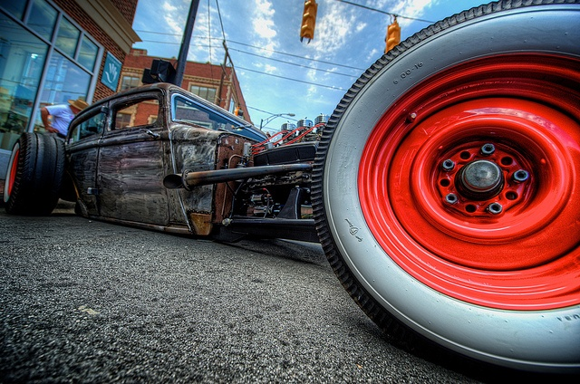 Rat rod cool..