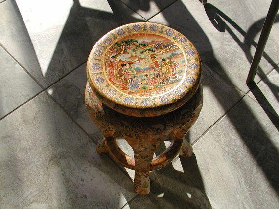 Amazing Asian Garden Stool Hand Painted 570 x 428 · 54 kB · jpeg