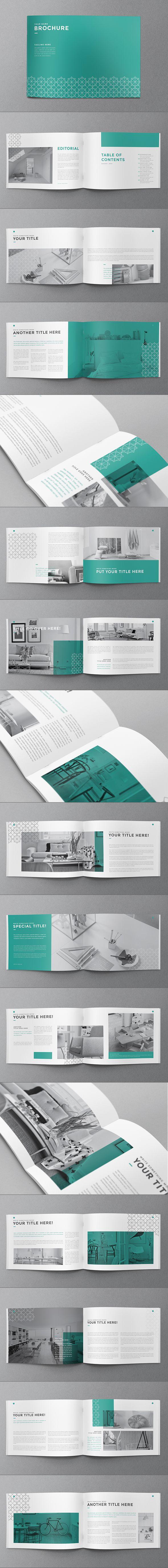 Minimal Pattern Brochure. Download here: http://graphicriver.net/item/minimal-pattern-brochure/12751211?ref=abradesign