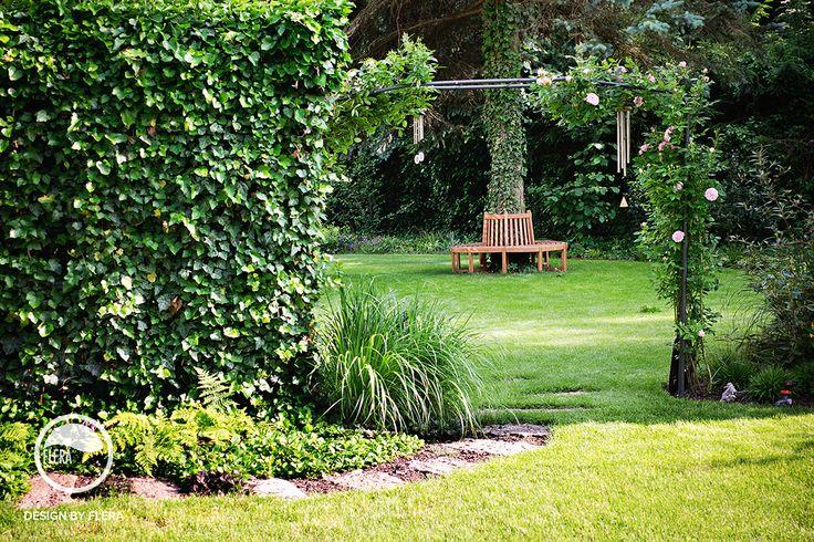 Zakvitnutá záhrada