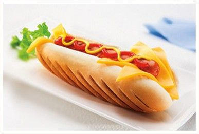 Kids will love eating a Rocket Dog on #HotDogDay