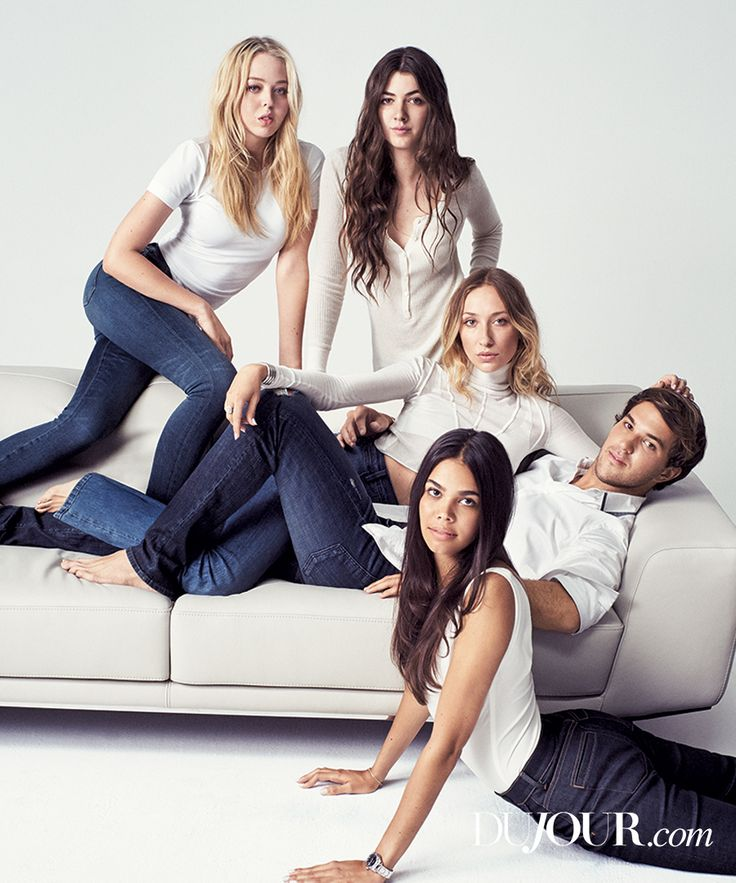 The stars of Andrew Warren's famous instagram—and even the man himself—weigh in on what it's like to be an individual and live with a famous name. Pictured (clockwise from top left): Tiffany Trump, Kyra Kennedy, Gaia Matisse, Andrew Warren and Reya Benitez