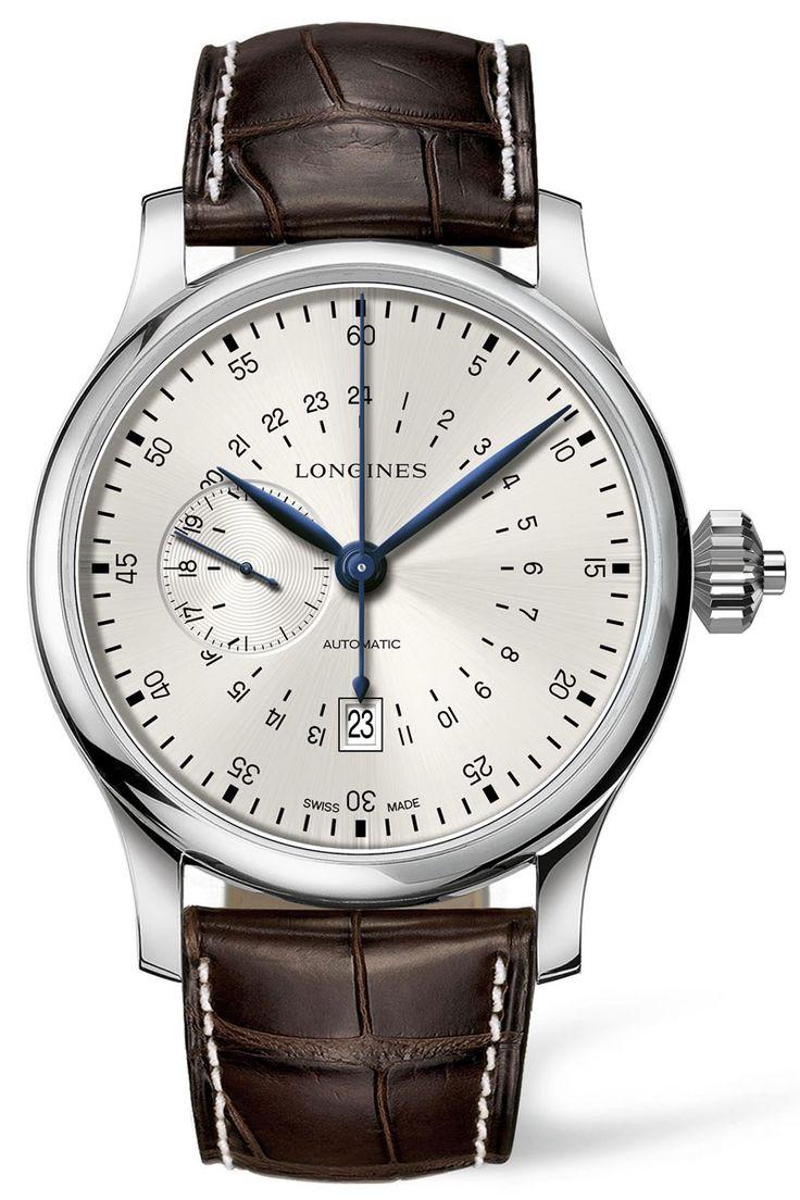 Longines 24-Hours Single Pusher Chronograph - Monochrome Watches
