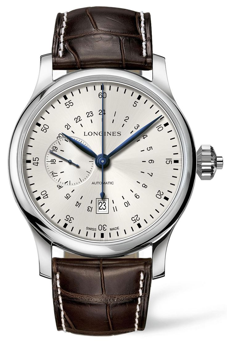 Longines 24-Hours Single Pusher Chronograph - Monochrome Watches