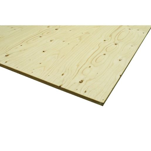Wickes Structural Spruce Plywood 18x1220x2440mm