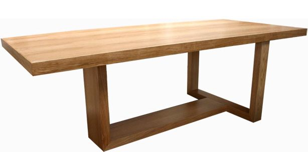 juno t-base dining table
