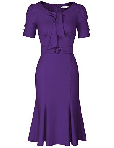 JUESE Women's 50s 60s Formal or Casual Party Pencil Dress... https://www.amazon.com/dp/B01FRX0PPO/ref=cm_sw_r_pi_dp_OqrJxbVRBJ6TA