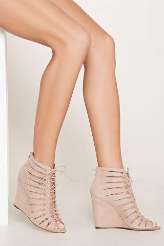 Sandale talpa ortopedica cu siret bej