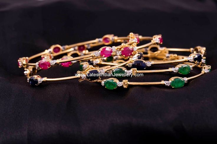 Light Weight Diamond Bangles