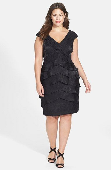 London Times Portrait Collar Crisscross Front Dress T10 $79