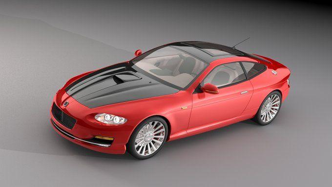 Dosch 3D - Concept Cars - Sample by Dosch Design