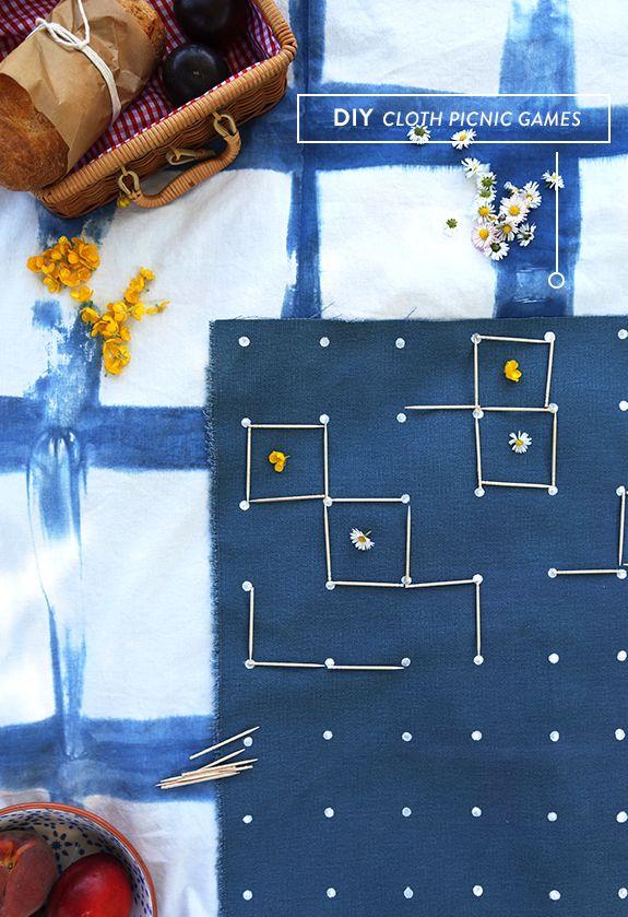 DIY cloth picnic games