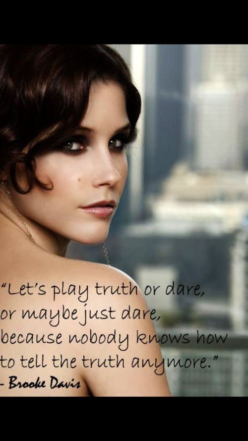 One Tree Hill-Brooke Davis..