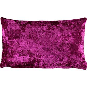 Metallic Feather Filled Rectangular Cushion