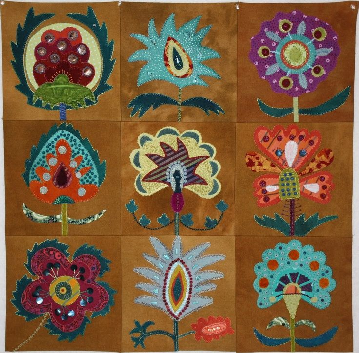 Folk Art Quilt Ideas : 1000+ images about Primitive quilting ideas on Pinterest