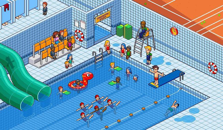 Interior 1: Swimming Pool by gunstar-red.deviantart.com on @deviantART