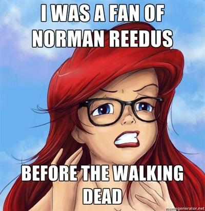 Reedus fan girl, duh, boondock saints! That's me!! Love me some boondock saints :-)