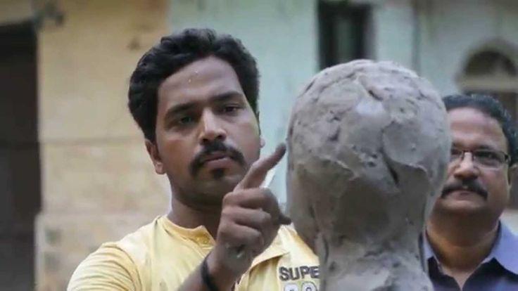 Vinayak Patil #madeinbelgaum #sculpture #sculpturemaking #india #art