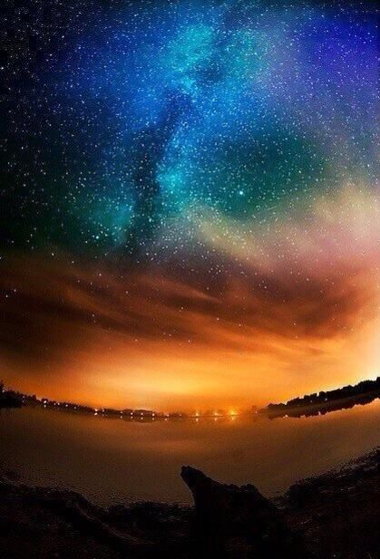 Cielo lleno de estrellas, Alaska ;)