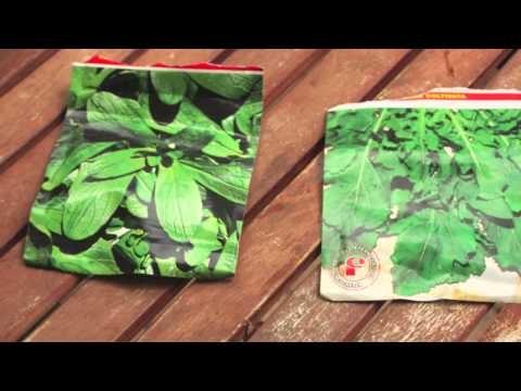 Orto sul balcone: coltivare linsalata in cassette della frutta :)