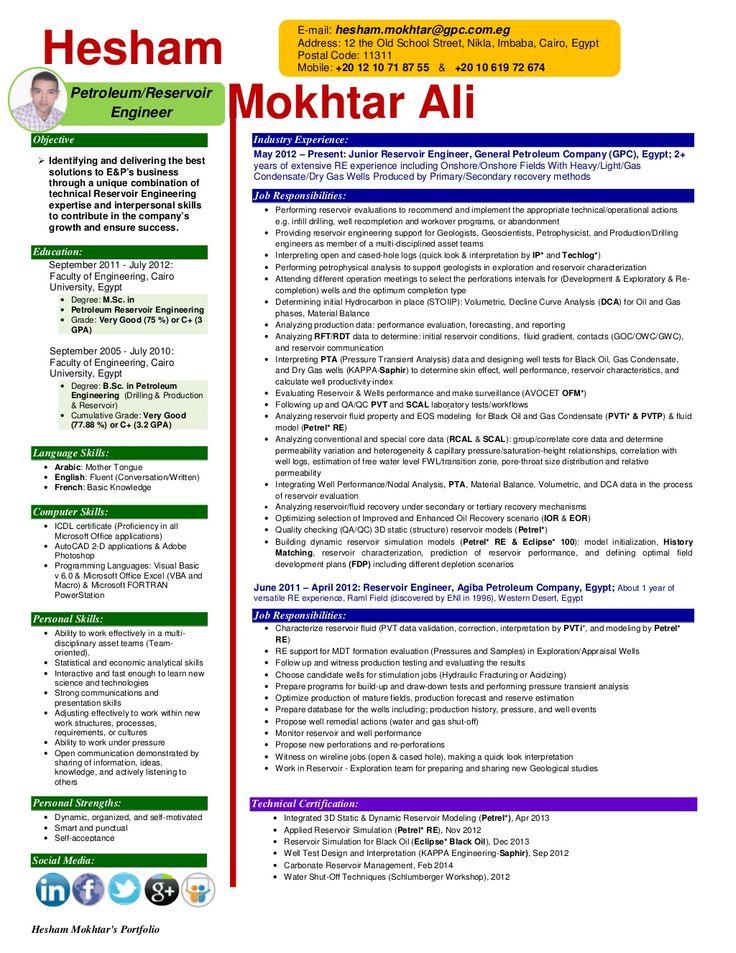 Hesham Mokhtar\u0027s Career portfolio update by Hesham Mokhtar Ali via