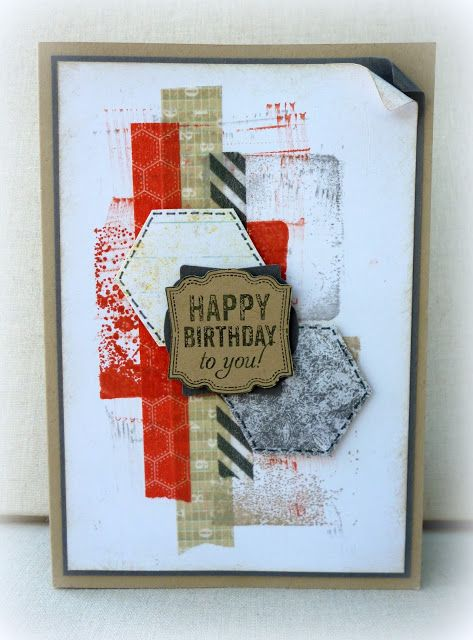 White House Stamping: Clear Block Grunge...