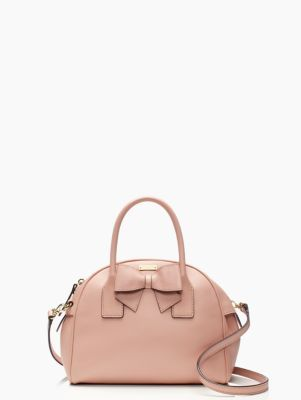 The bow is just too cute on this Kate Spade hanover street small lorin bag! Ahhhh!