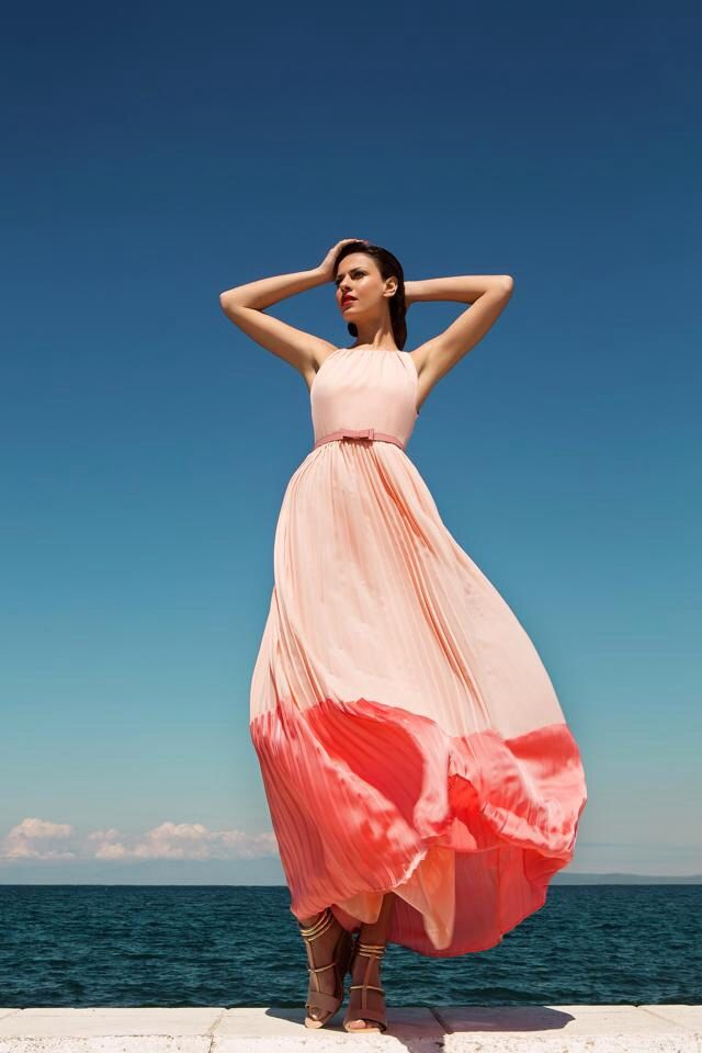 Pink Maxi Dress, just Perfect