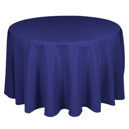 TCPY-120RY 120 Inch Royal Blue Polyester Tablecloth TCPY-120RY