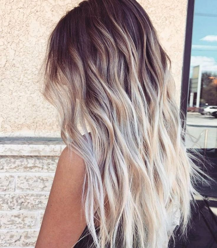 The perfect summer ombre . Creamy goodness. Who's hair goals look a little like …