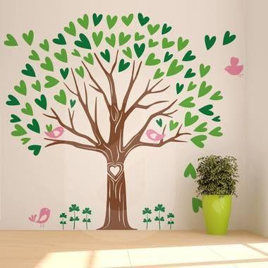 Αυτοκόλλητο τοίχου LOVING TREE