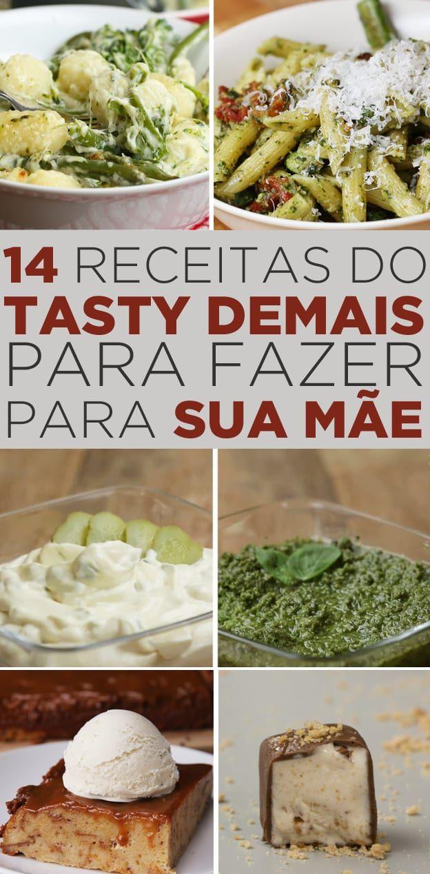 14 receitas do Tasty Demais para você fazer para sua mãe