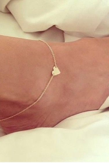 Sweet Love Anklet - Gold