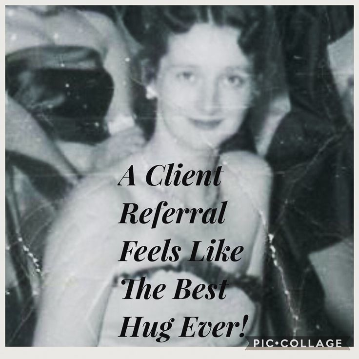 A client referral is like the best hug ever. Suzanne Standish Coffey at Phenix Salon Suites