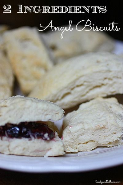How can these biscuits be SO unbelievably good with only 2 ingredients? They are! This is a must try recipe!