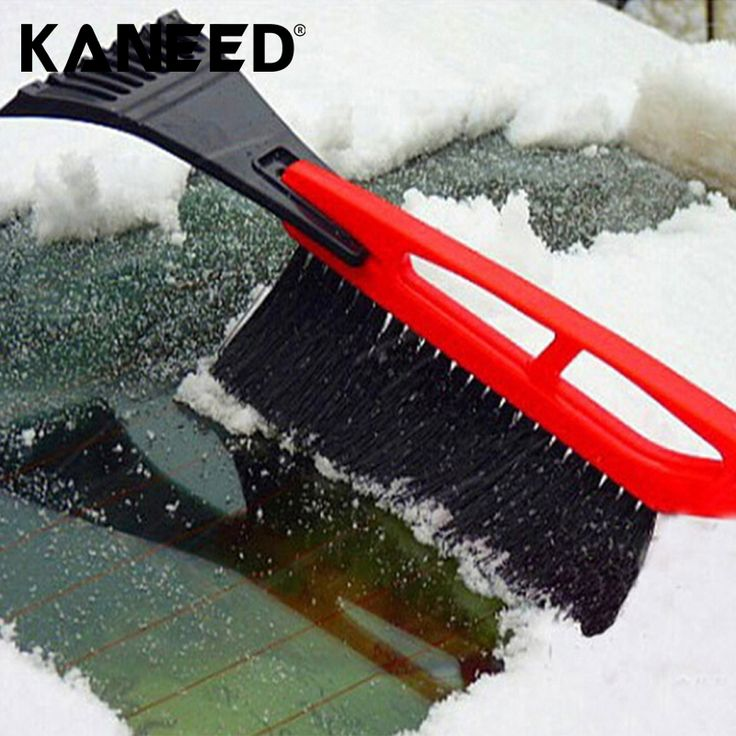 snow shovel Portable 2 in 1 Car High-strength Snow Shovel with Snow Frost Broom Brush And Ice Scraper