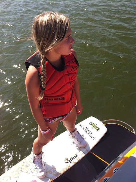 Wakeboard Girl in Ronix gear!