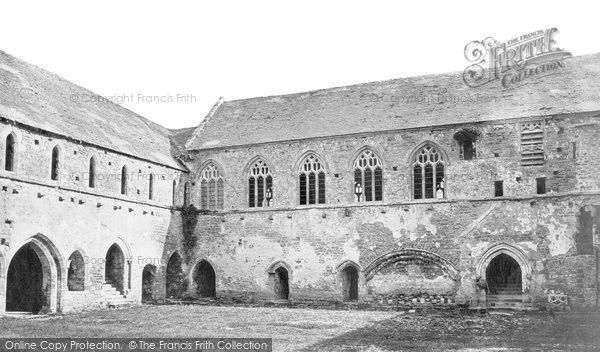 Old Cleeve, Abbey, Refectory And Dormitory c.1871, from Francis Frith