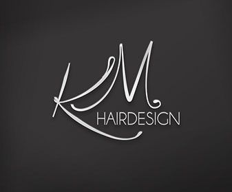 KM Hairdesign -Logo - Melographic Studio