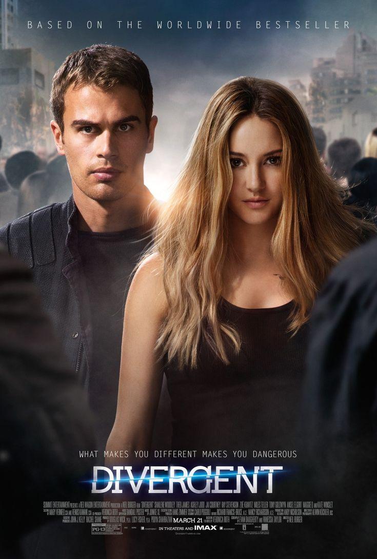 Divergent  ふつう〜。ハンガーゲームみたいだなぁって思ったけど続編も出るのか。