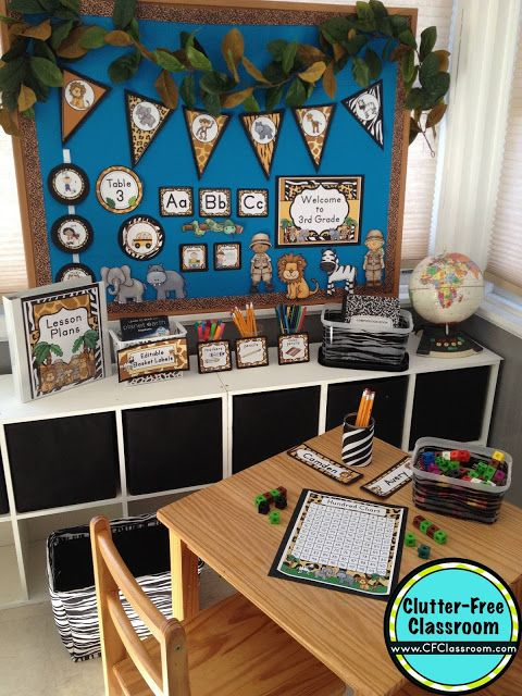 Classroom Decor On A Budget : Best jungle safari classroom theme images on pinterest