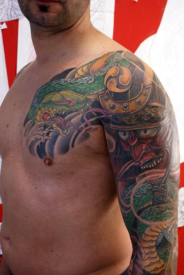 1000 images about tattoo on pinterest japanese snake for Hanzo tattoo sleeve