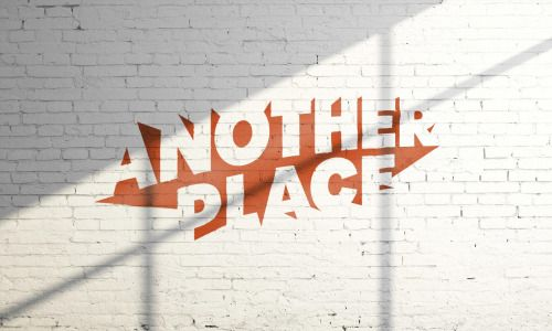 "I like how the logo is just a group of shapes that when put together the negative space forms together to look like the words ""Another Place"". I could do something similar."