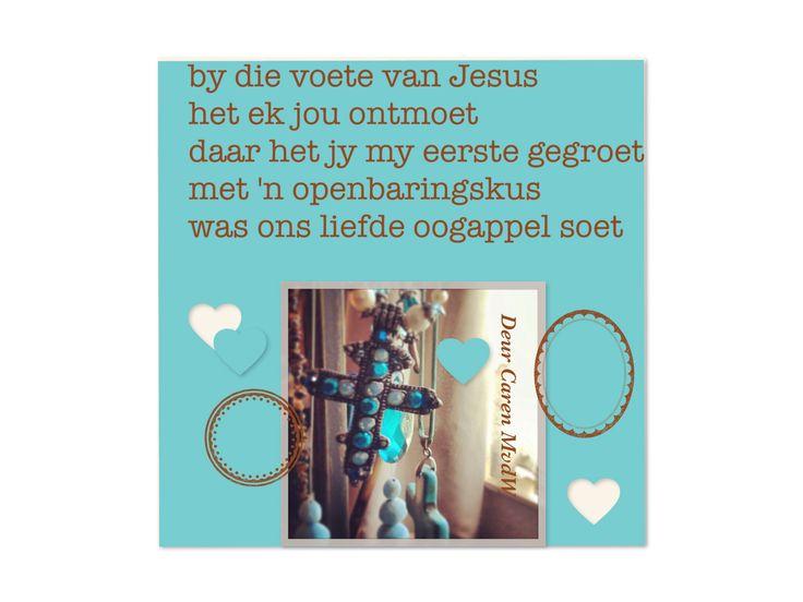 By die voete van  Jesus deur Caren MvdW