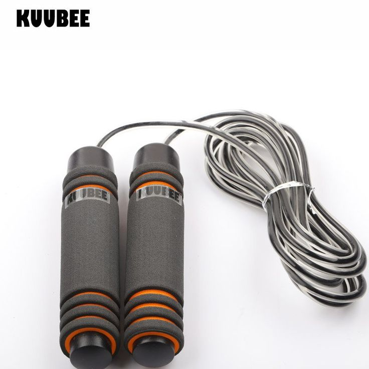 KUUBEE 2 type Professional Skipping Rope For Women Men Sport Jumping Roped Bodybuilding Gym Equipment Accessories