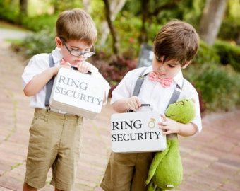 Anillo de seguridad insignia conjunto con por CastleHallCreative