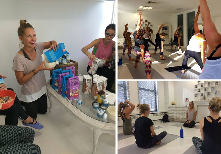 Our lovely Wellicious Ambassador Kat Harding from yogakiss in Australia came into our showroom last Saturday to help us relax and re-energise! Thank you to Vita Coco Coconut Water and @Rude Health for your delicious hydrating and tasty snacks! ❤