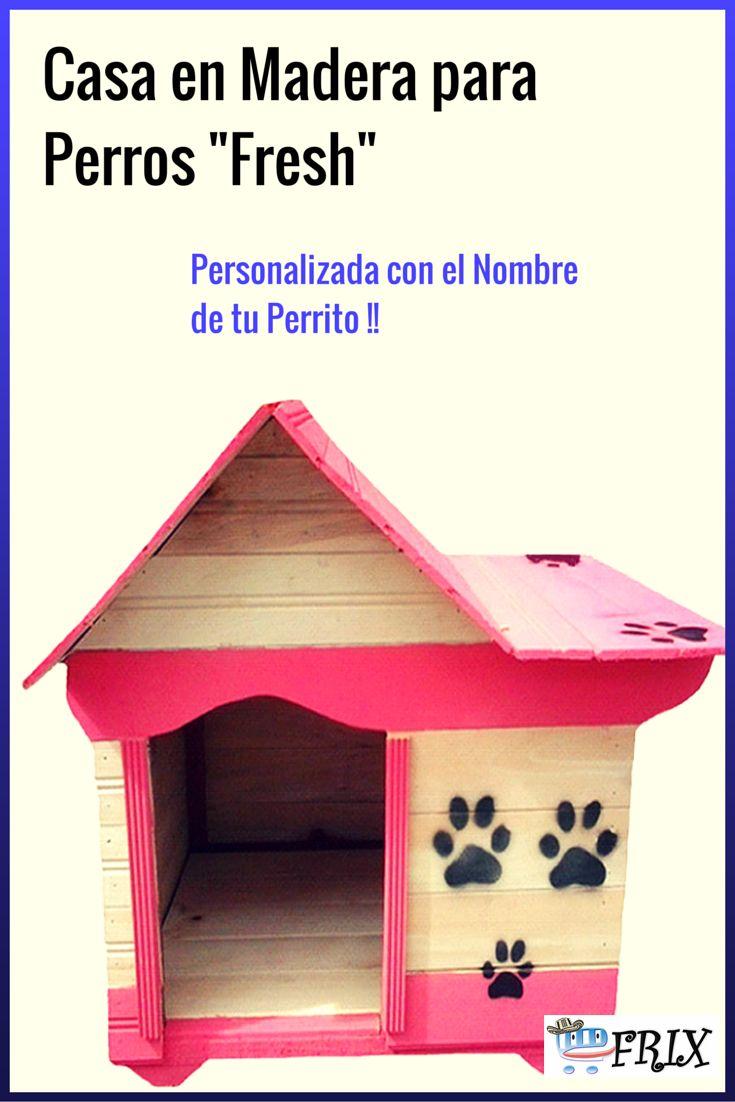 Este Hermoso Modelo De Casa Para Perros En Madera Con